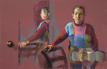 Judith Carducci Triple self-portrait