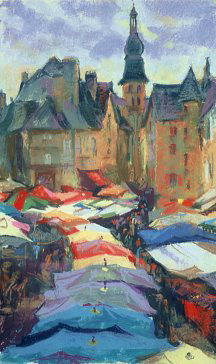 The Market in Sarlat